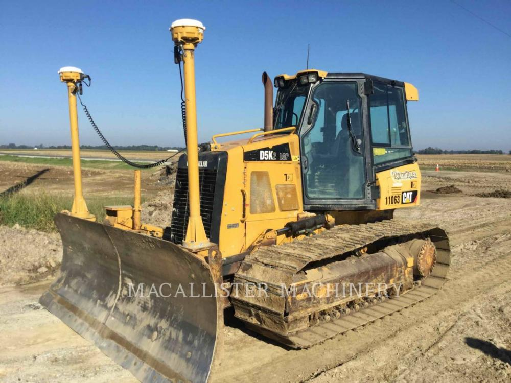 Detail photo of 2012 Caterpillar D5K LGP II from Construction Equipment Guide