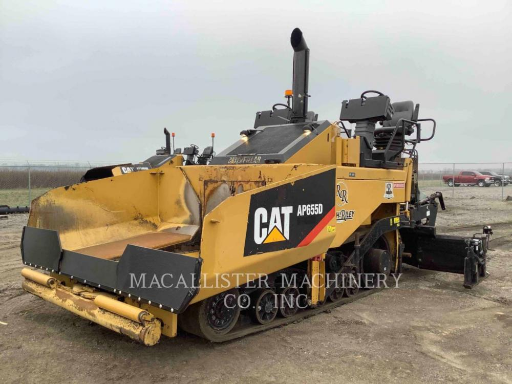 Detail photo of 2012 Caterpillar AP655D from Construction Equipment Guide