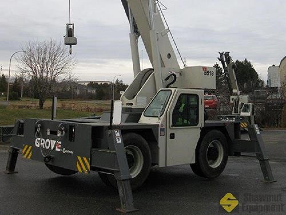 Detail photo of 2012 Grove YB5518 from Construction Equipment Guide
