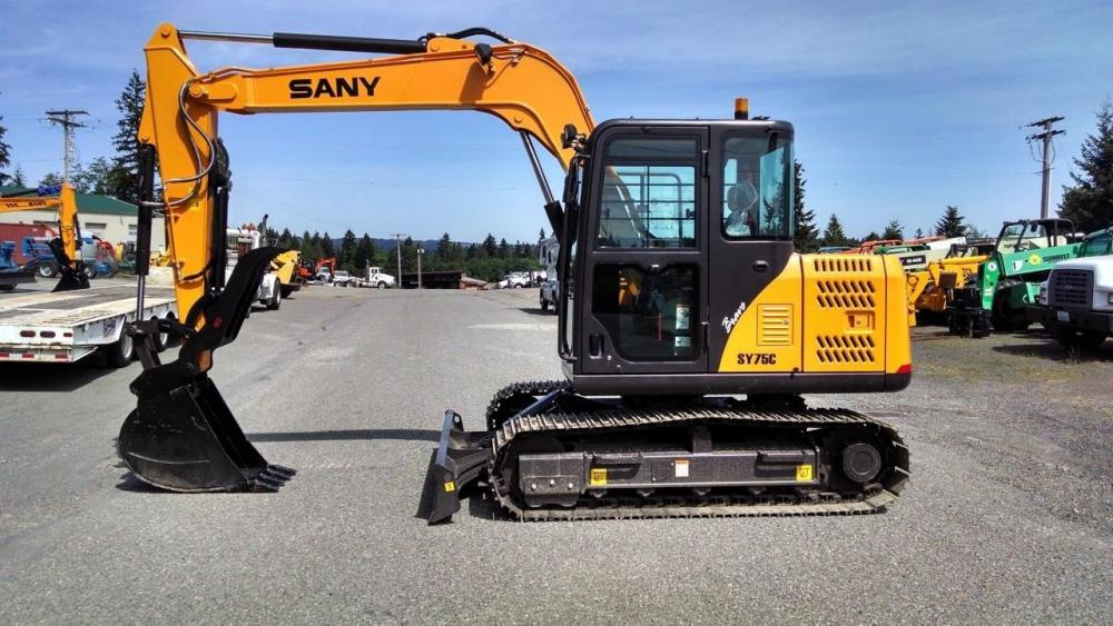 Detail photo of 2019 Sany SY75C from Construction Equipment Guide
