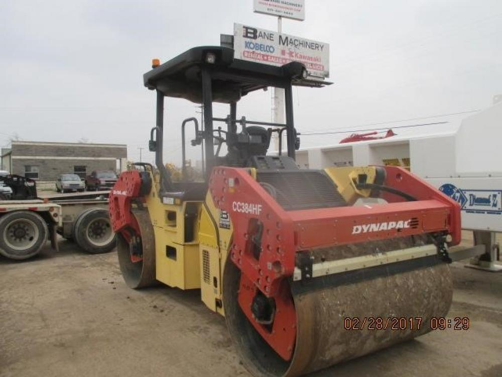 Detail photo of 2010 Dynapac CC384HF from Construction Equipment Guide