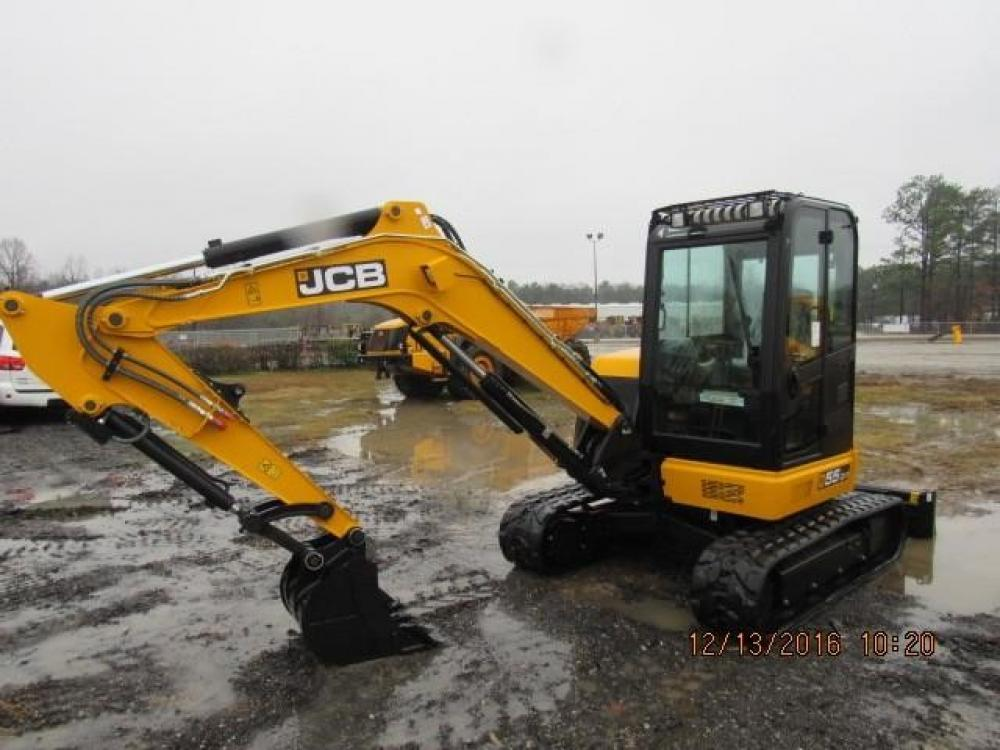 Detail photo of 2017 JCB 55Z-1 from Construction Equipment Guide