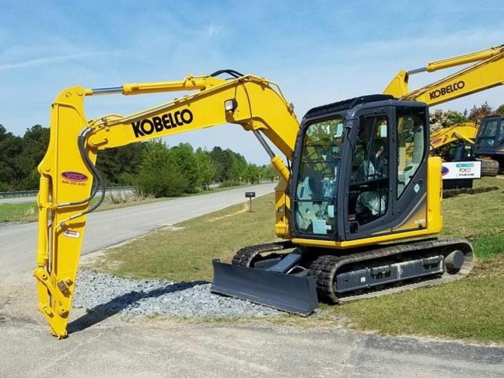Detail photo of 2017 Kobelco SK75SR-3E from Construction Equipment Guide