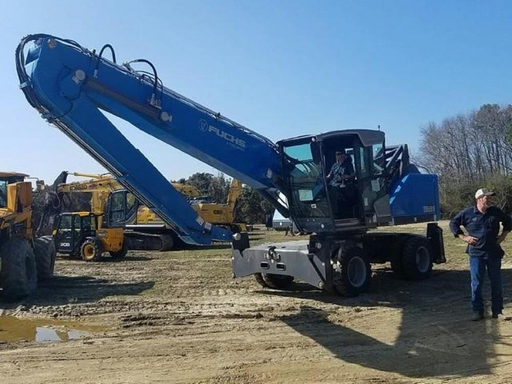 Detail photo of 2018 Fuchs MHL331F from Construction Equipment Guide