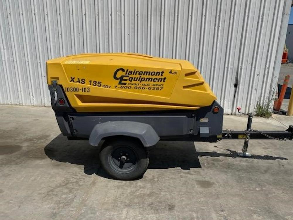 Detail photo of 2016 Atlas Copco XAS185 from Construction Equipment Guide