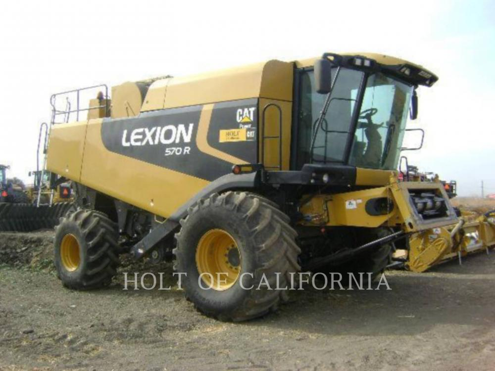 Detail photo of 2010 Lexion 570R G11074 from Construction Equipment Guide