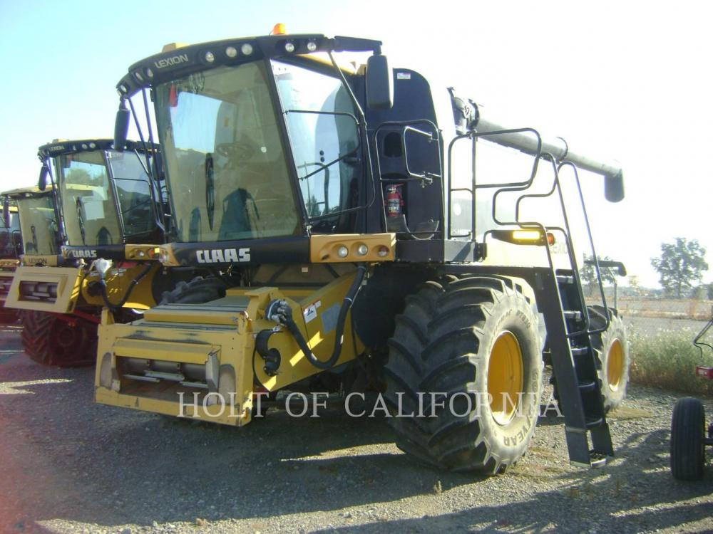 Detail photo of 2012 Lexion 740   GT10763 from Construction Equipment Guide