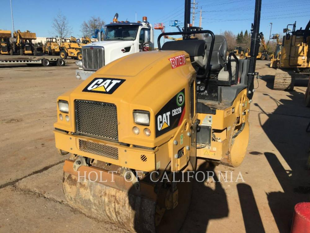 Detail photo of 2017 Caterpillar CB22B from Construction Equipment Guide