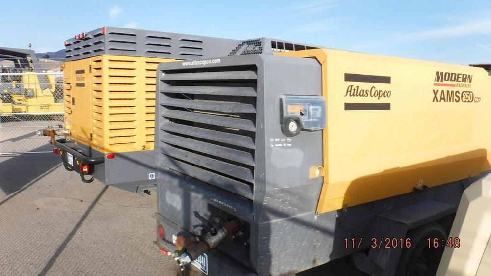 Detail photo of 2009 Atlas Copco XAMS850 from Construction Equipment Guide