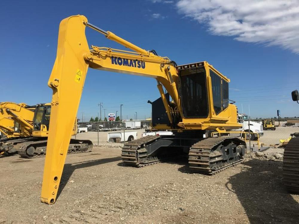 Detail photo of 2017 Komatsu PC240LL-10 from Construction Equipment Guide
