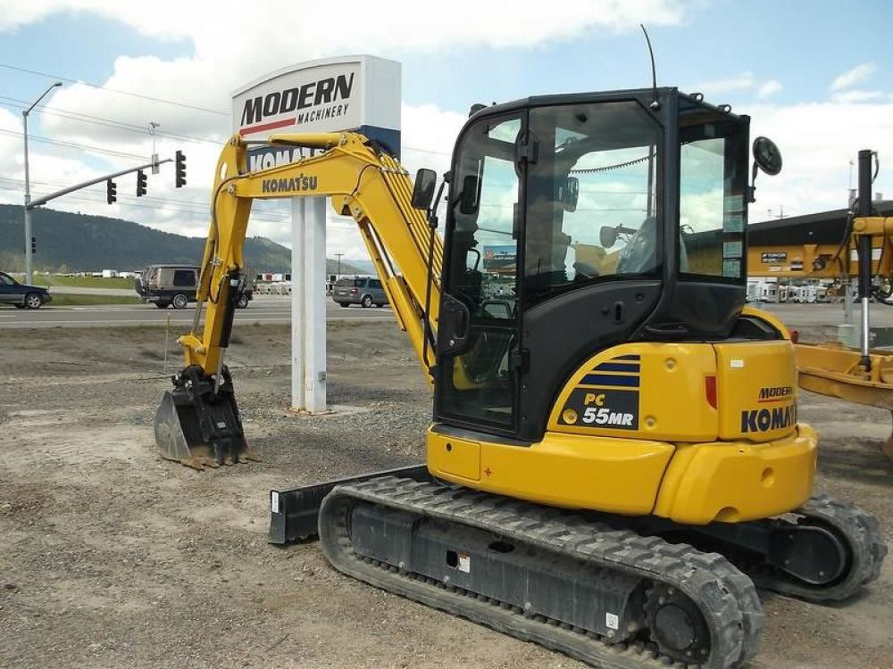 Detail photo of 2017 Komatsu PC55MR-5 from Construction Equipment Guide