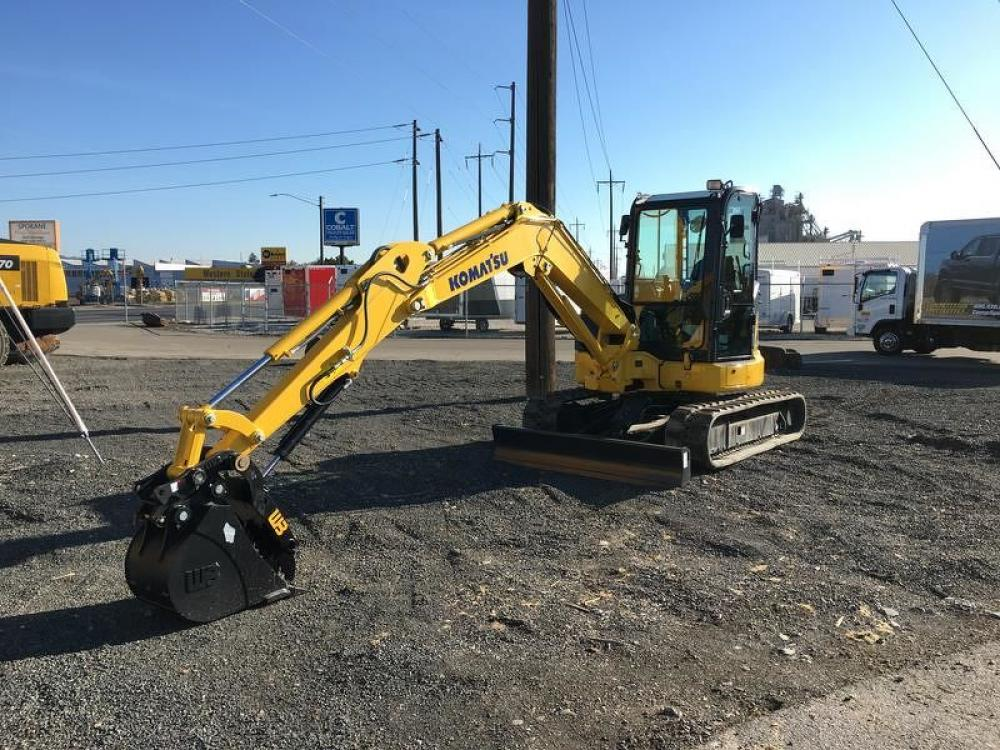 Detail photo of 2018 Komatsu PC55MR-5 from Construction Equipment Guide