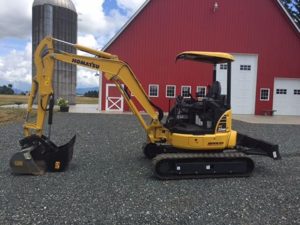 Detail photo of 2017 Komatsu PC35MR-5 from Construction Equipment Guide