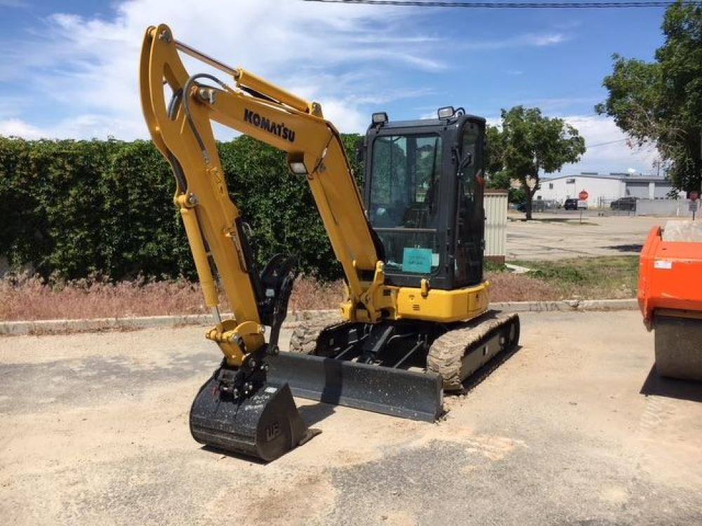 Detail photo of 2018 Komatsu PC35MR-5 from Construction Equipment Guide