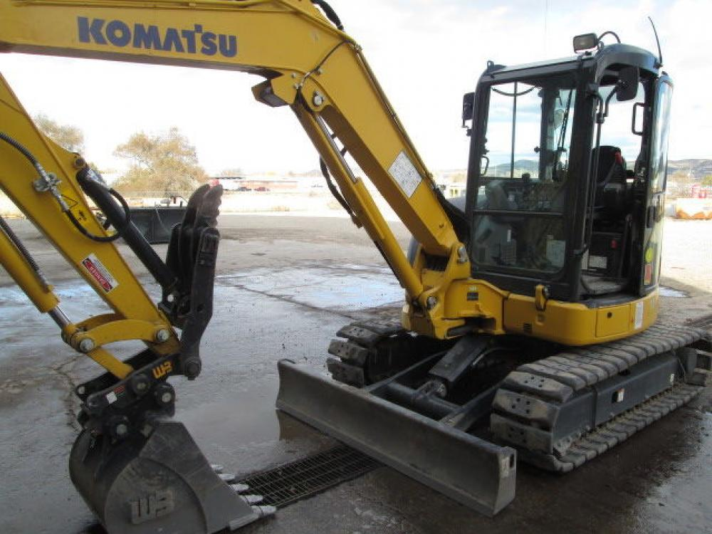 Detail photo of 2016 Komatsu PC55MR-5 from Construction Equipment Guide