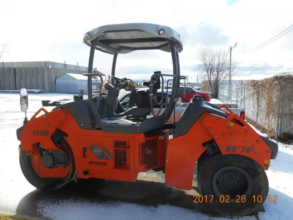 Detail photo of 2015 Hamm HD+ 70IVT from Construction Equipment Guide