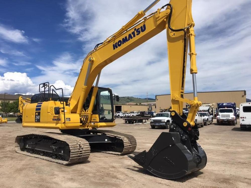 Detail photo of 2018 Komatsu PC240LC-11 from Construction Equipment Guide