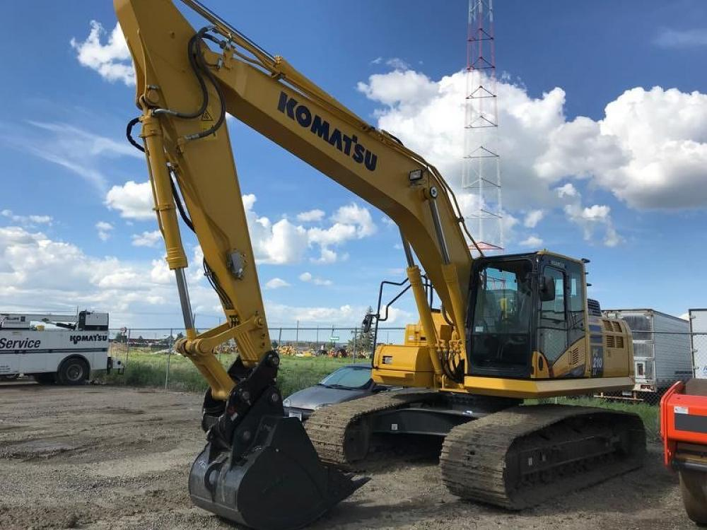 Detail photo of 2018 Komatsu PC210LC-11 from Construction Equipment Guide
