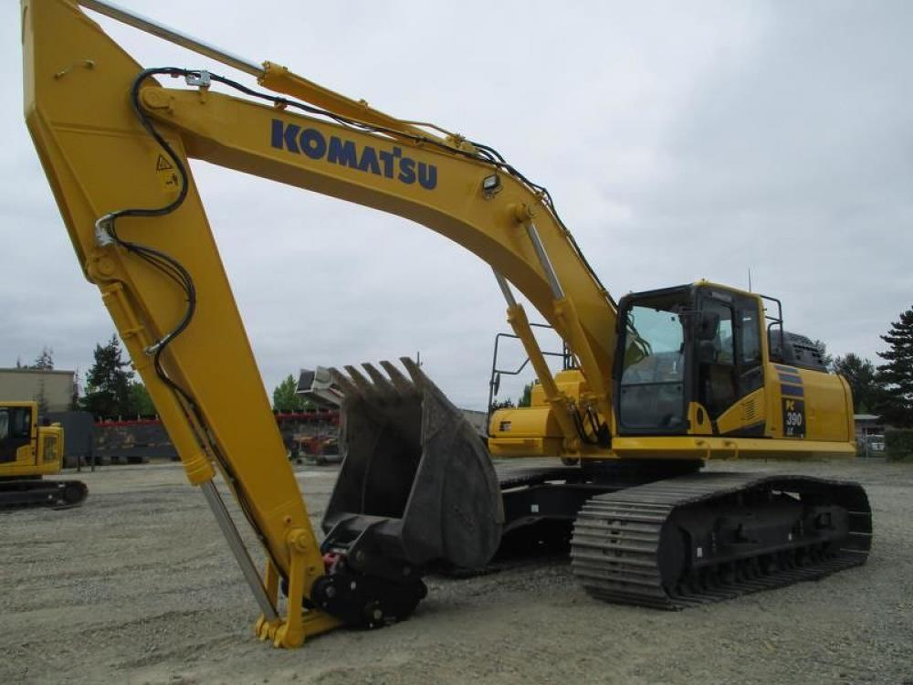 Detail photo of 2017 Komatsu PC390LC-11 from Construction Equipment Guide