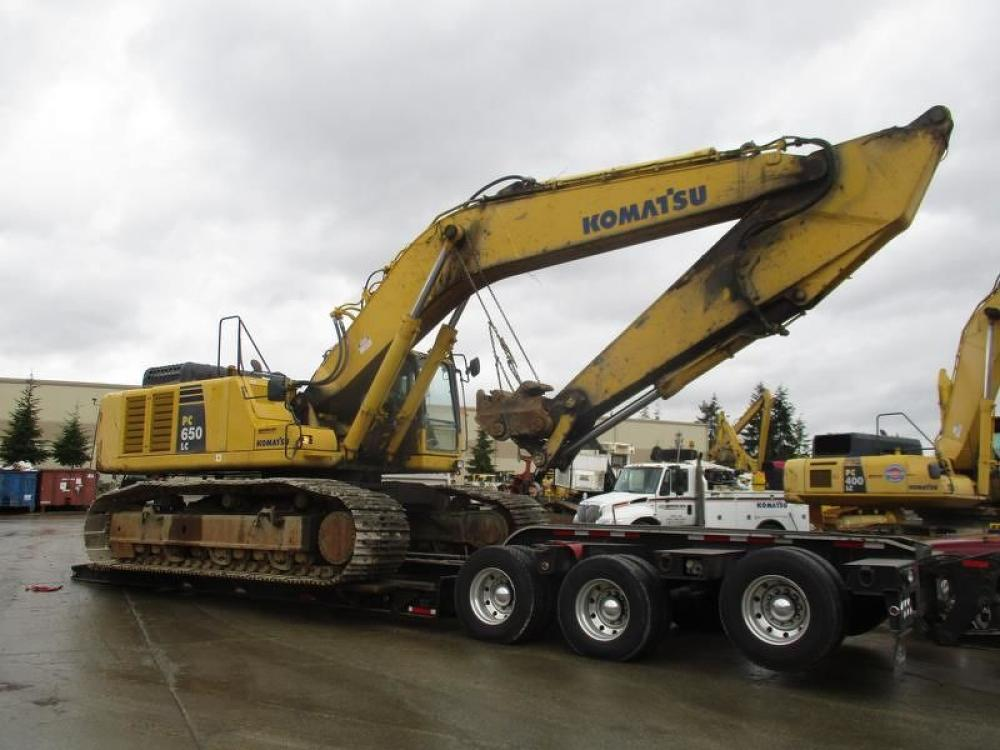 Detail photo of 2012 Komatsu PC650LC-8 from Construction Equipment Guide