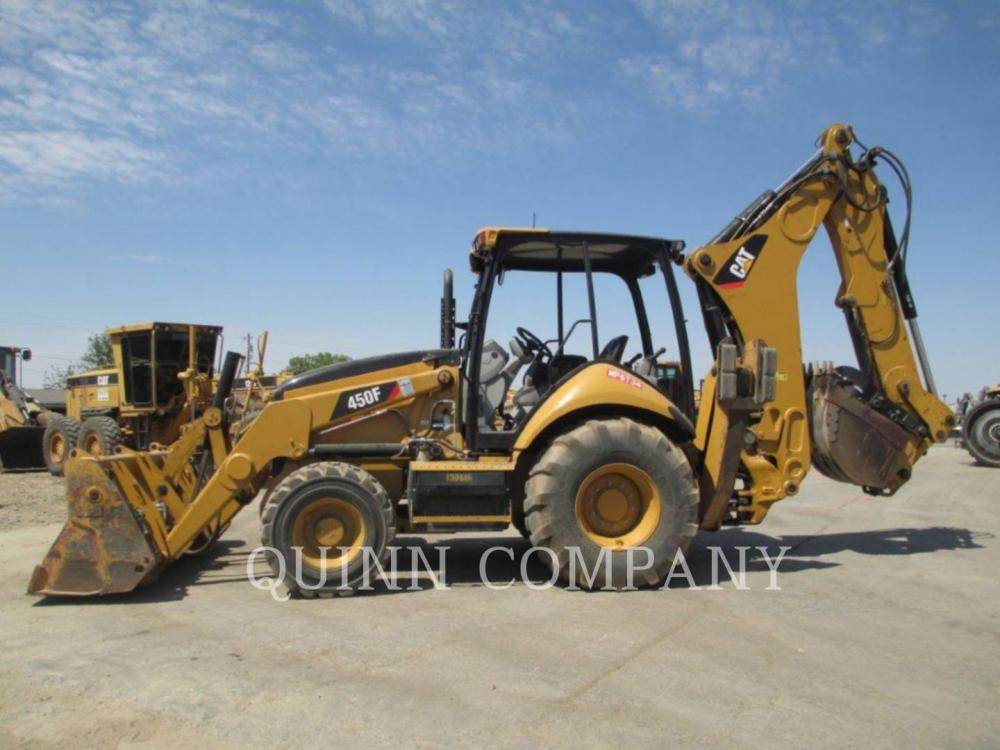 Detail photo of 2013 Caterpillar 450F from Construction Equipment Guide