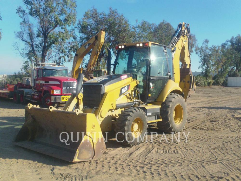 Detail photo of 2014 Caterpillar 450F from Construction Equipment Guide