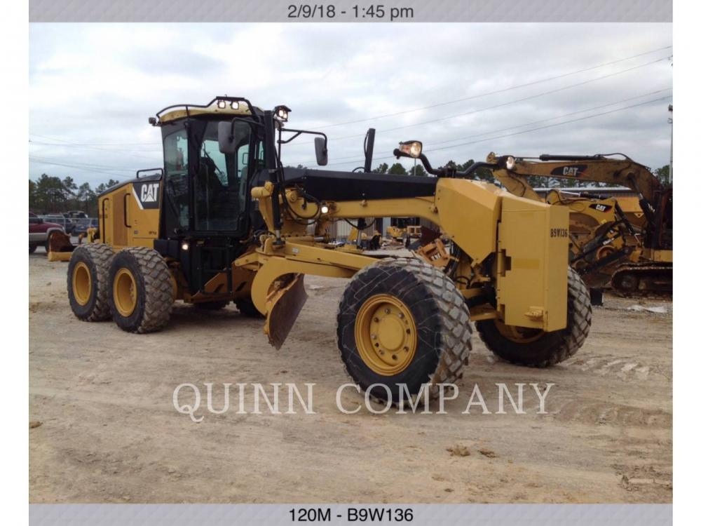 Detail photo of 2008 Caterpillar 120M from Construction Equipment Guide