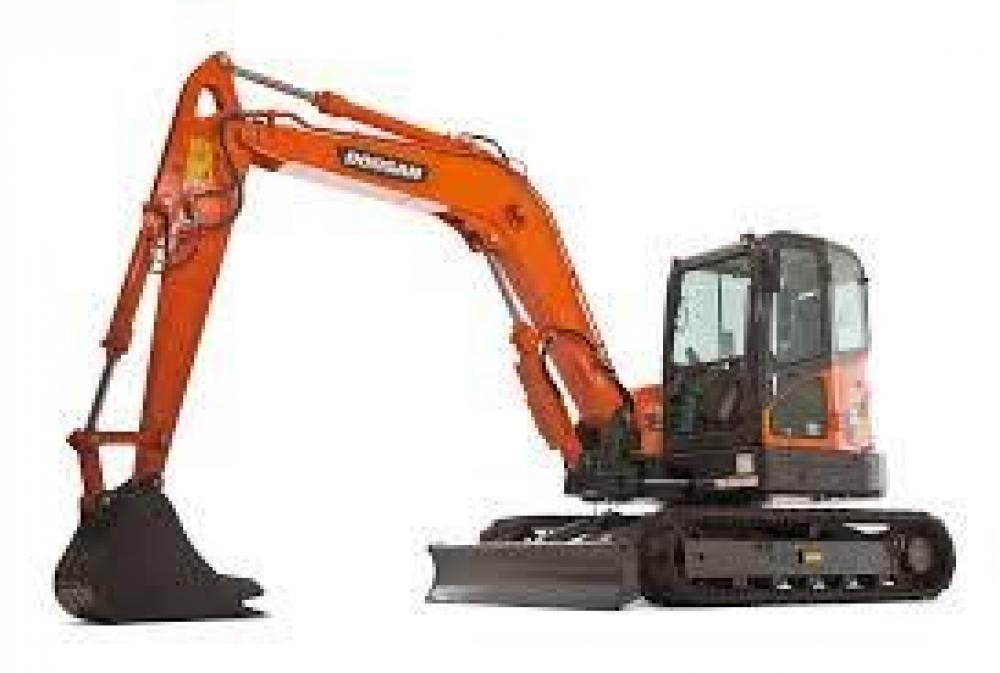 Detail photo of 2017 Doosan DX85R-3 from Construction Equipment Guide
