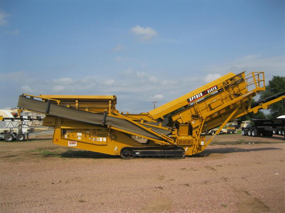 Detail photo of 2017 Screen Machine SPYDER 514TS from Construction Equipment Guide
