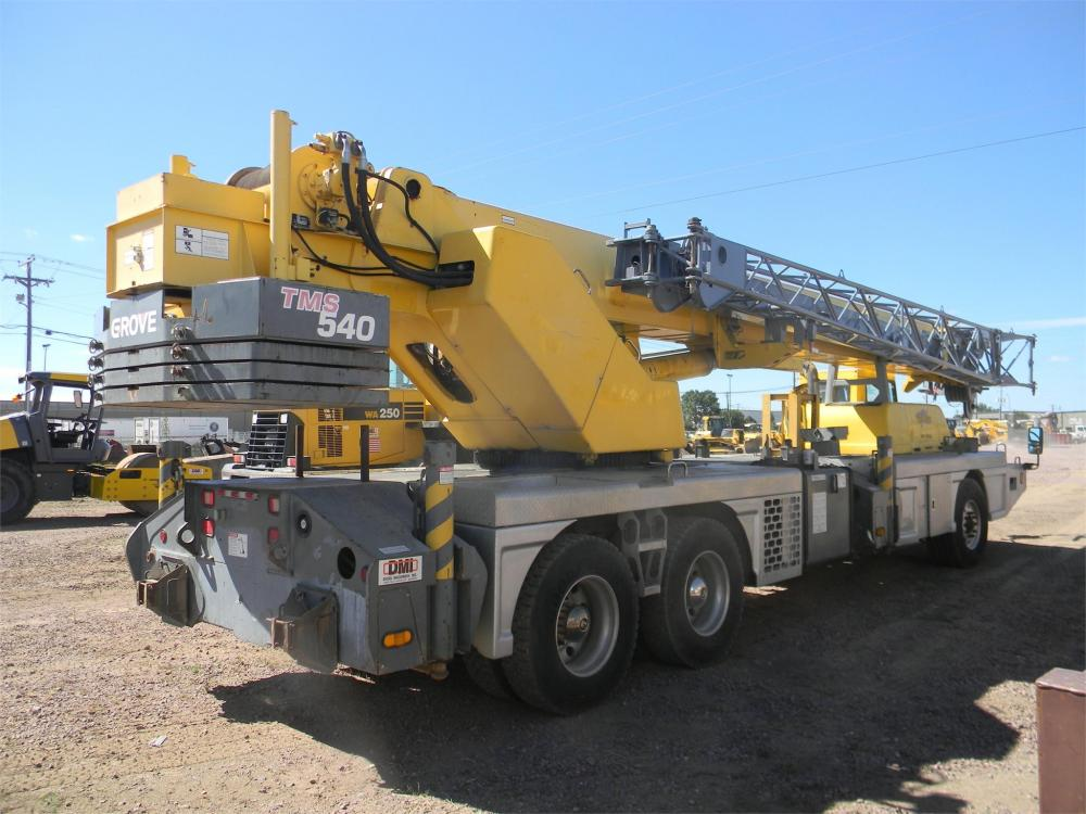 Detail photo of 2000 Grove TMS540 from Construction Equipment Guide