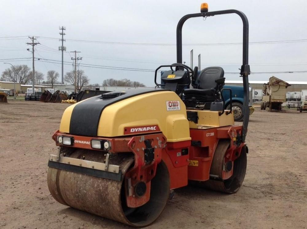 Detail photo of 2012 Dynapac CC1300 from Construction Equipment Guide