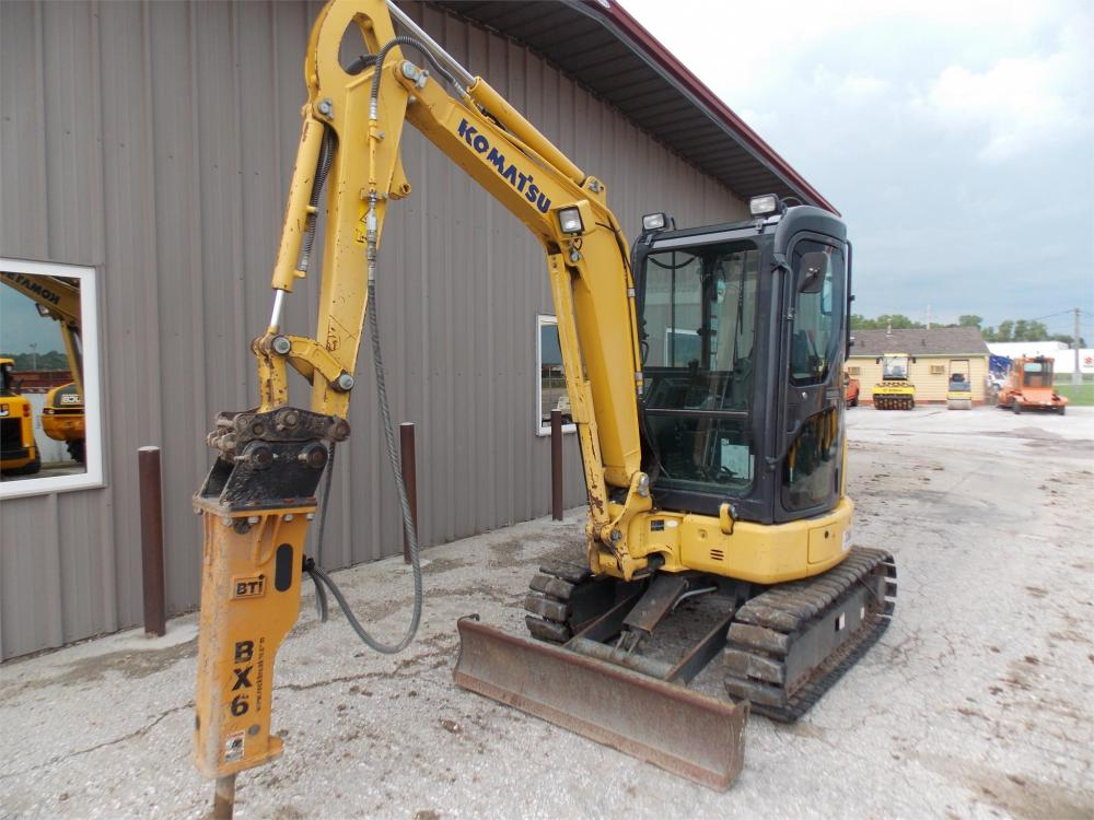 Detail photo of 2012 Komatsu PC27MR-3 from Construction Equipment Guide