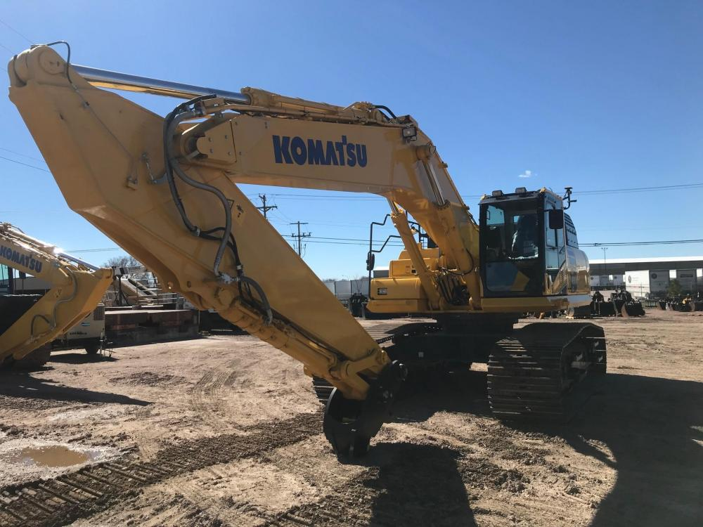 Detail photo of 2019 Komatsu PC490LC-11 from Construction Equipment Guide