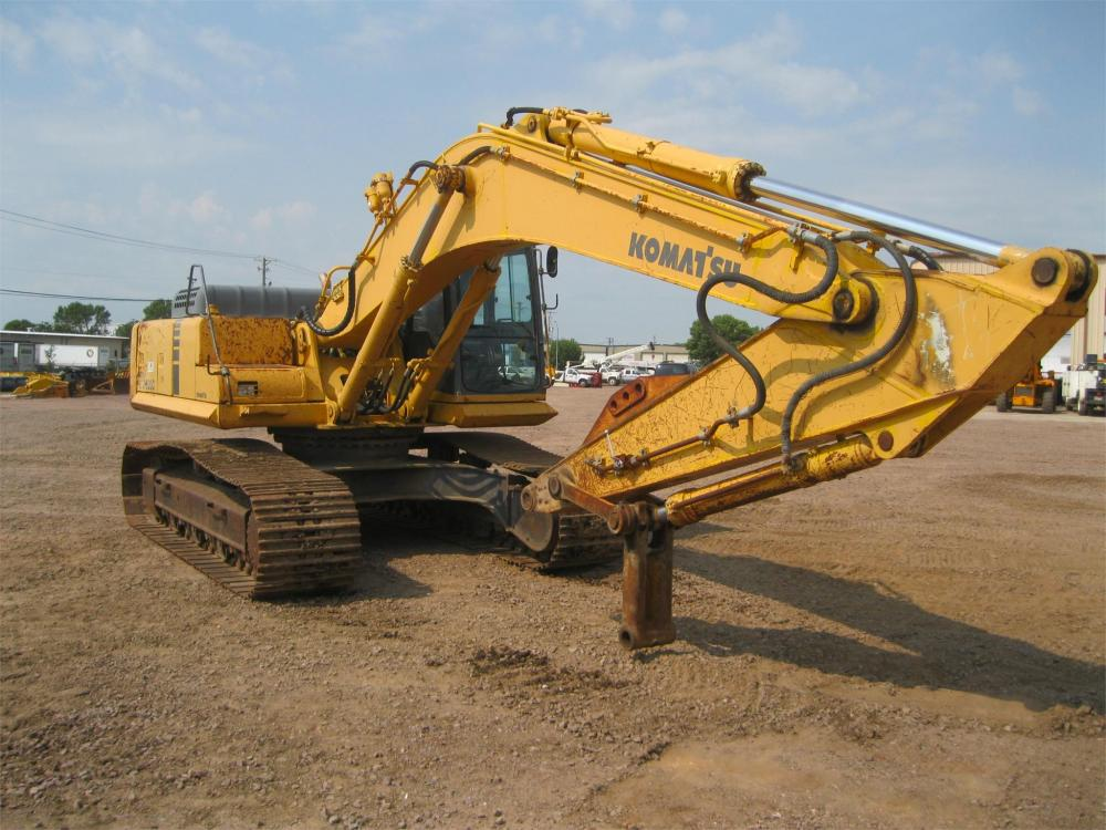 Detail photo of 2001 Komatsu PC300LC-6 from Construction Equipment Guide