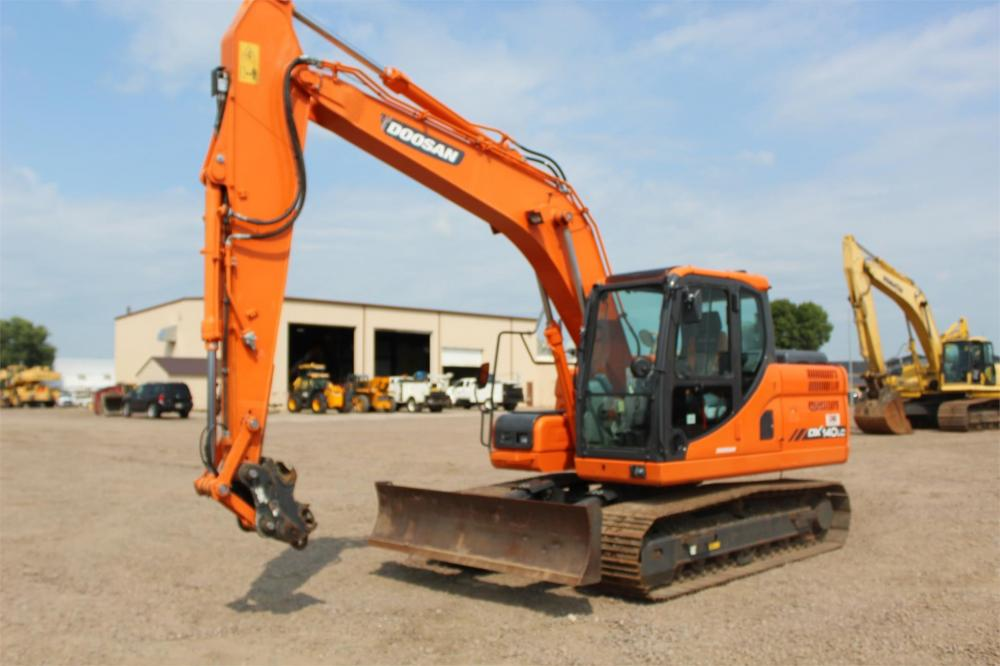 Detail photo of 2013 Doosan DX140LC-3 from Construction Equipment Guide