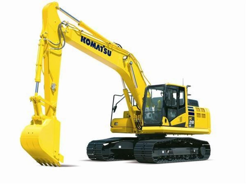 Detail photo of 2019 Komatsu PC210LC-11 from Construction Equipment Guide