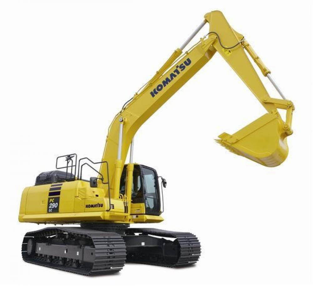 Detail photo of 2019 Komatsu PC290LC-11 from Construction Equipment Guide