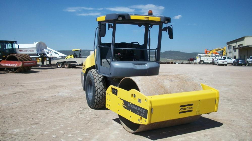 Detail photo of 2015 Dynapac CA1500D from Construction Equipment Guide