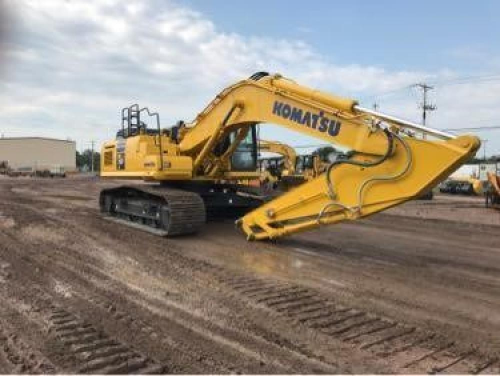 Detail photo of 2018 Komatsu PC360LC-11 from Construction Equipment Guide
