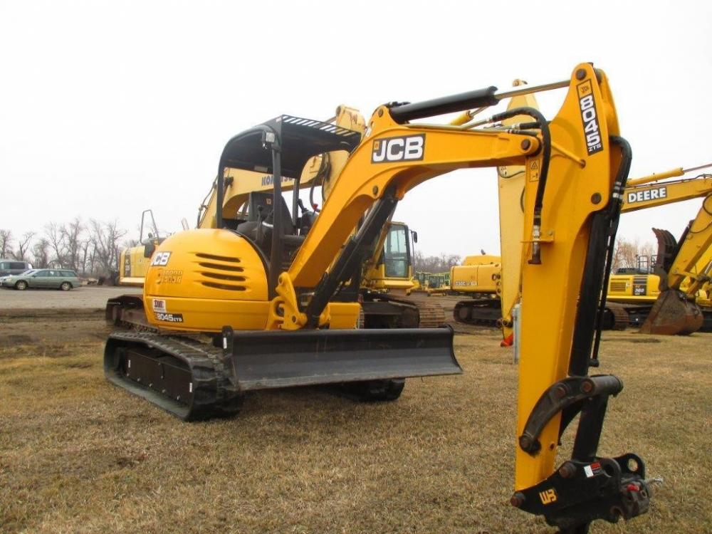 Detail photo of 2016 JCB 8045 ZTS from Construction Equipment Guide