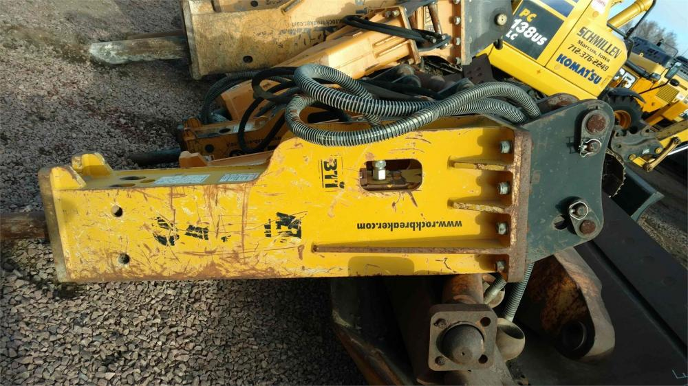 Detail photo of 2007 Teledyne HYDRAULIC BREAKER, 1,350 FT LB, WB 146 / 156	BT 51 from Construction Equipment Guide