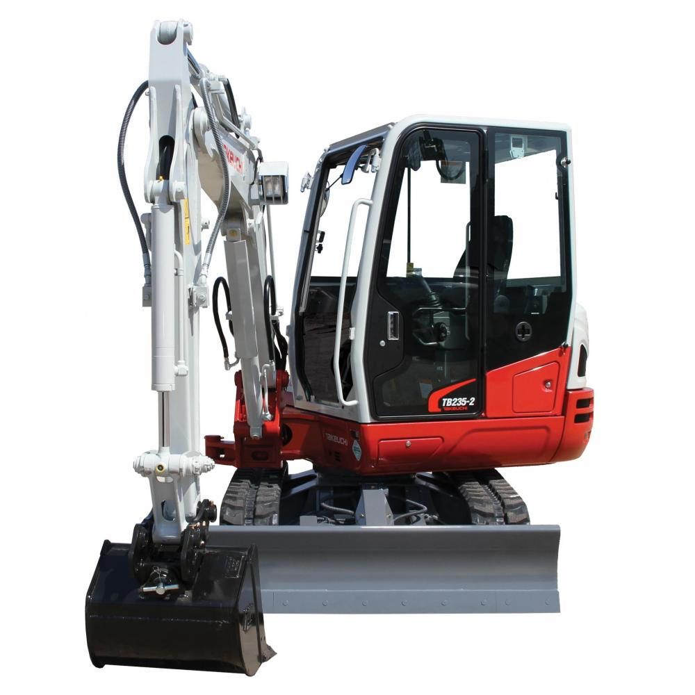 Detail photo of 2019 Takeuchi TB235CR from Construction Equipment Guide