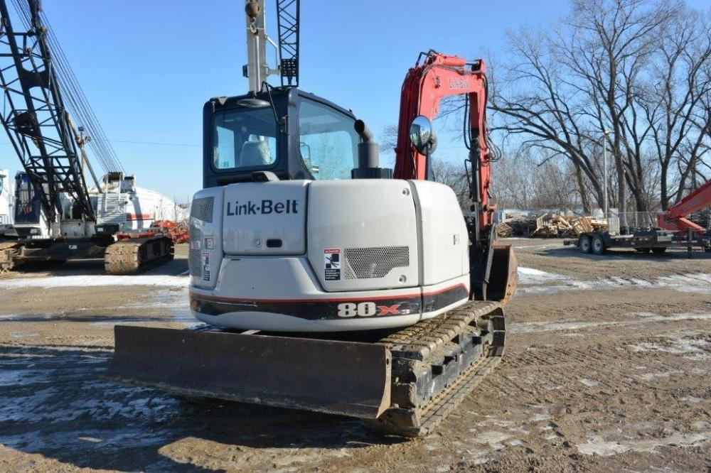 Detail photo of 2014 Link-Belt 80 X3 from Construction Equipment Guide