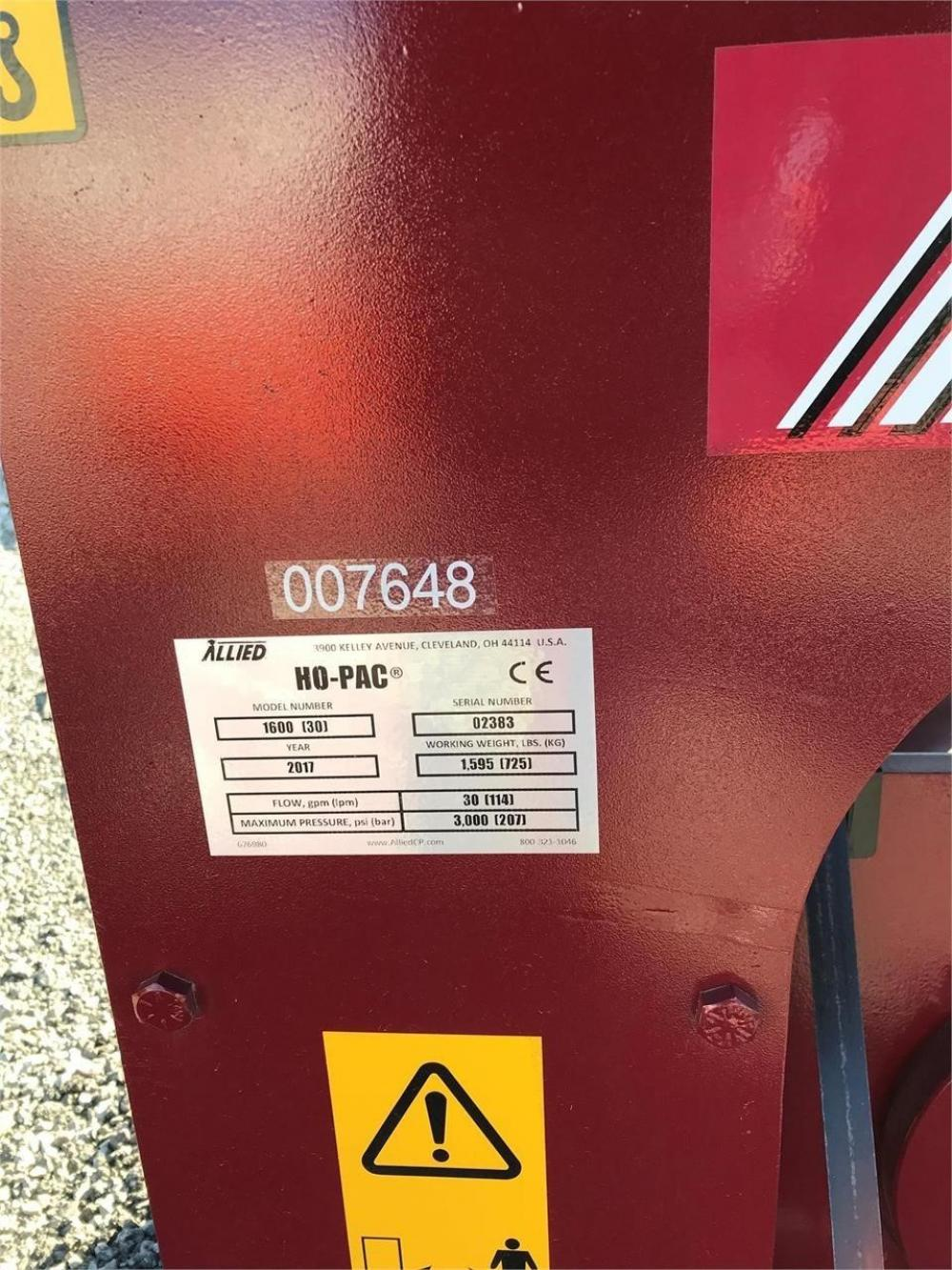Detail photo of 2017 Allied 1600 from Construction Equipment Guide