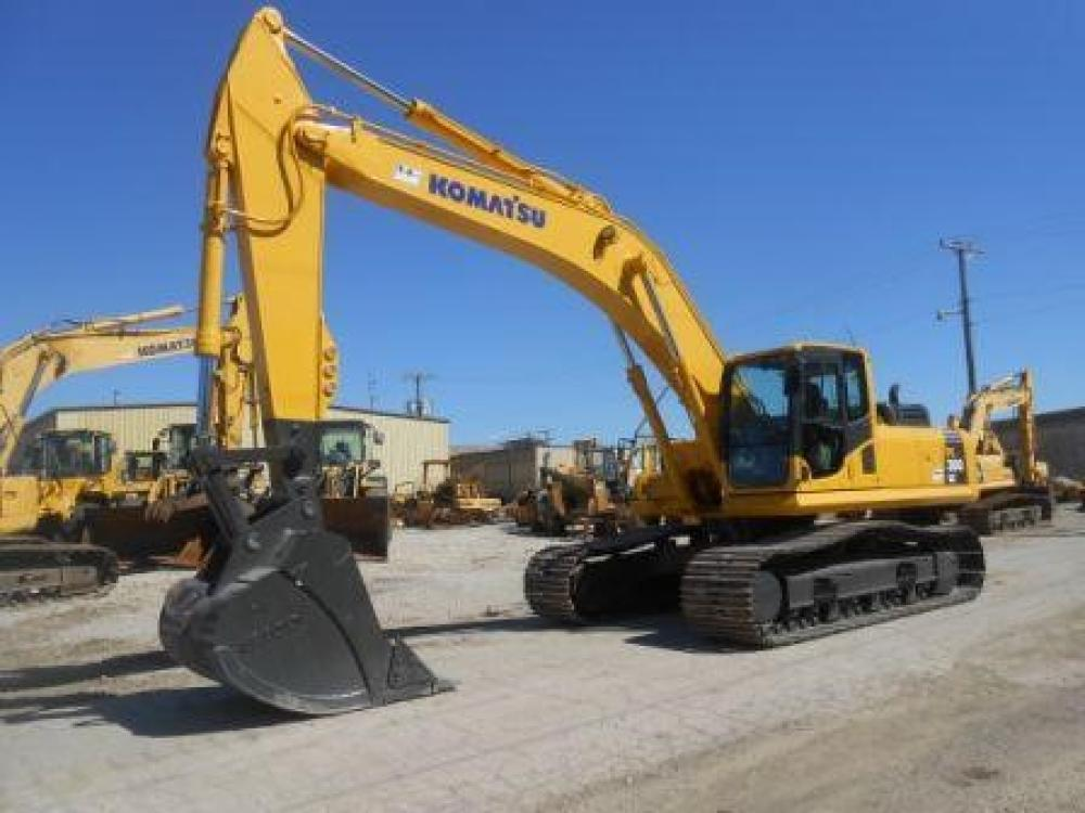 Detail photo of 2007 Komatsu PC300LC-8 from Construction Equipment Guide