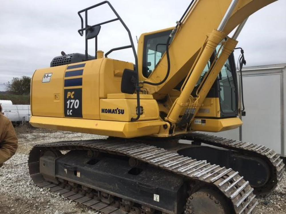 Detail photo of 2014 Komatsu PC170LC-10 from Construction Equipment Guide