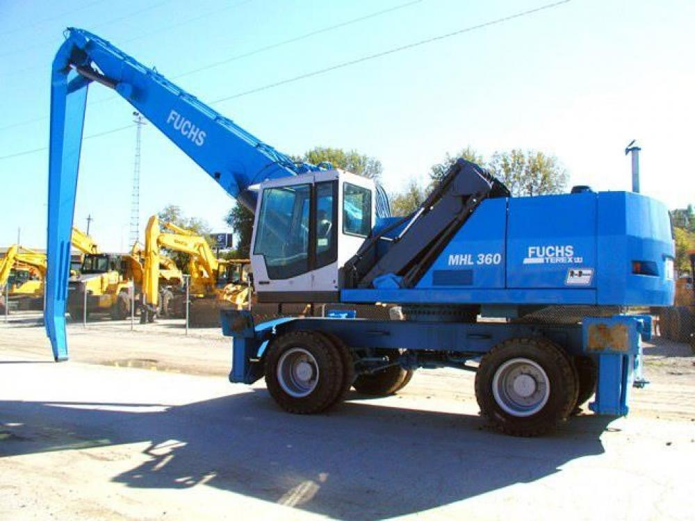 Detail photo of 2003 Fuchs MHL360 from Construction Equipment Guide