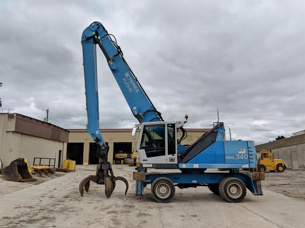 Detail photo of 2010 Fuchs MHL340D from Construction Equipment Guide