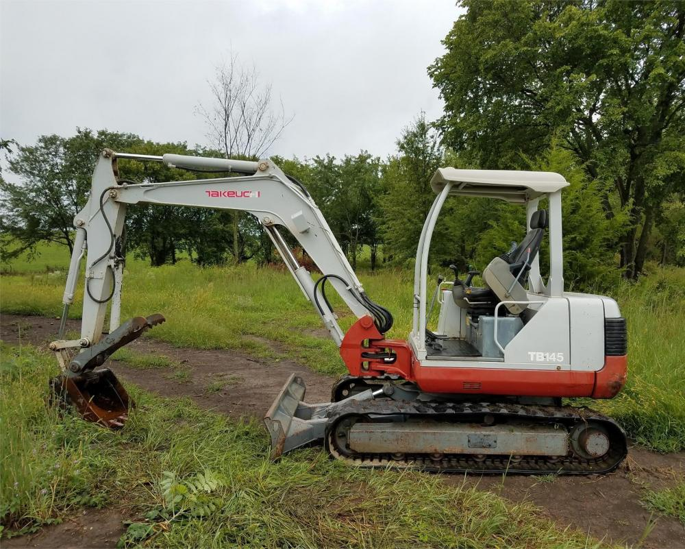 Detail photo of 2006 Takeuchi TB145 from Construction Equipment Guide