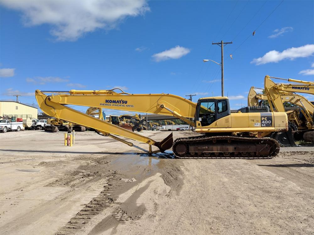 Detail photo of 2005 Komatsu PC400LC-7 from Construction Equipment Guide